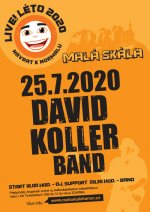 LIVE LÉTO 2020 - David Koller band - 25.7.