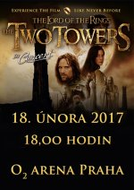 soutěž Lord of the Rings - The Two Towers in concert