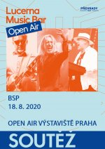 soutěž Lucerna Music Bar Open Air - BSP - 18.8.2020