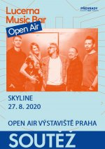 soutěž Lucerna Music Bar Open Air - Skyline - 27.8.2020