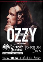 OZZY OSBOURNE + HOLLYWOOD VAMPIRES