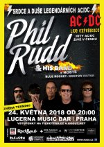 Phil Rudd & His Band - 24.5.2018 Praha