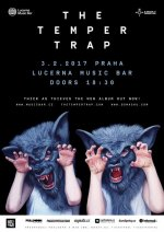 soutěž THE TEMPER TRAP 3.2.2017 Lucerna Music Bar