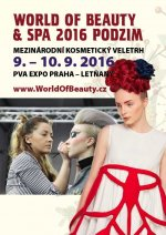soutěž WORLD OF BEAUTY & SPA 2016